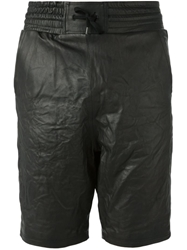 Alexandre Plokhov Leather Shorts