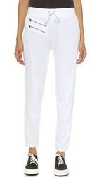 Pam And Gela Ankle Sweatpants White