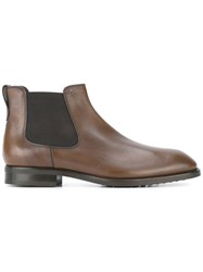 Tod's Classic Chelsea Boots Brown