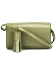 Building Block 'Petite' Crossbody Bag Green