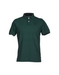 Beverly Hills Polo Club Polo Shirts Dark Green