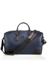Dunhill Chassis Small Holdall Navy Brown