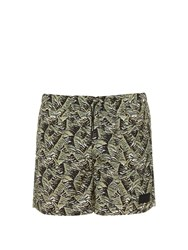 Acne Studios Perry Swim Shorts Green