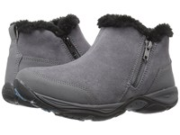 Easy Spirit Excellite Dark Grey Multi Suede Women's Shoes Taupe
