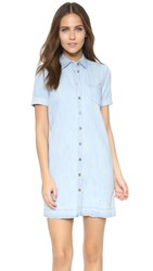 Ag Jeans Jensen Dress Blue Horizon
