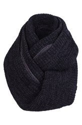 Men's Bickley Mitchell Infinity Scarf Black Black Twist