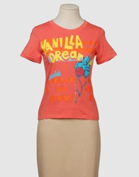 Sundek Short Sleeve T Shirts Orange