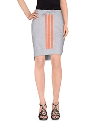 Y 3 Skirts Knee Length Skirts Women Grey