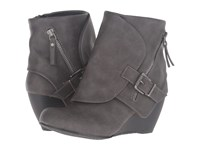 Blowfish Bilocate Grey Texas Pu Women's Dress Zip Boots Gray