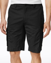 Tommy Hilfiger Men's Classic Cargo Shorts Black