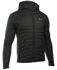 Under Armour Men's Storm Coldgear Hybrid Hooded Jacket Dark Green