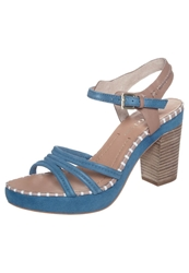 Marc O'polo High Heeled Sandals Fjord Blue