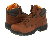 Timberland Titan 6 Safety Toe Coffee Full Grain Leather Women's Work Boots Brown
