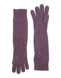 Ralph Lauren Gloves Purple