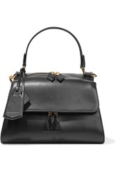 Victoria Beckham Full Moon Small Leather Tote Black