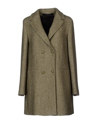 Kristina Ti Coats Military Green