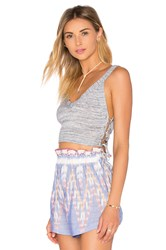 Bcbgeneration Crop Top Blue
