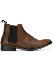 Paul Smith Ps By Chelsea Ankle Boots Brown