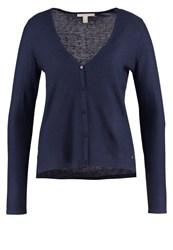 Esprit Cardigan Navy Dark Blue
