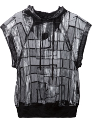 Ktz Hooded Mesh Top