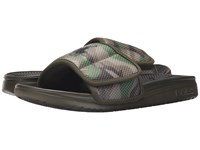 Polo Ralph Lauren Romsey Olive Camo Olive Synthetic Men's Slide Shoes Black