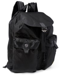Polo Ralph Lauren Men's Military Nylon Backpack Black