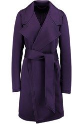 Donna Karan Modal Coat Purple