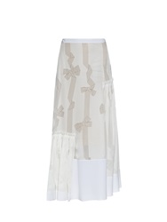 Stella Mccartney Filippa Devore Bow Print Skirt
