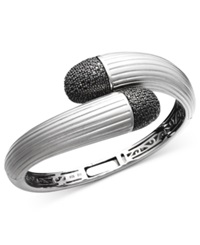 Effy Collection Balissima By Effy Black Diamond Wrap Bangle 1 1 2 Ct. T.W. In Sterling Silver