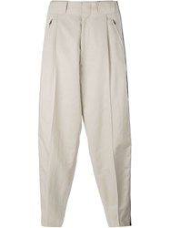 Ports 1961 Side Band Wide Pants Nude And Neutrals
