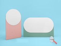 Buy The Hay Shapes Mirror Online At Nest.Co.Uk