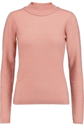 Roksanda Ilincic Caldwell Cashmere Silk And Wool Blend Sweater Pink