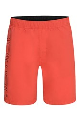Animal Stretch Waist Board Shorts Red