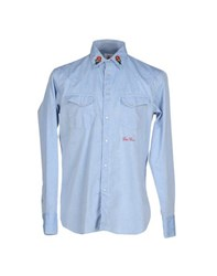 Guy Rover Denim Denim Shirts Men