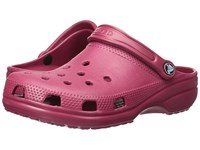 Crocs Classic Cayman Unisex Pomegranate Clog Shoes Pink