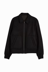 Paul And Joe Bayonne Bomber Jacket Black