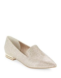 Adrianna Papell Taylor Point Toe Smoking Flats Plantino