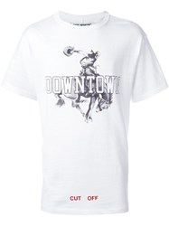 Off White 'Othelo's Downtown' T Shirt White