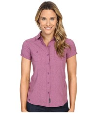 Outdoor Research Reflection Short Sleeve Shirt Wisteria Women's Clothing Purple