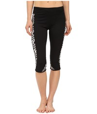 Hurley Dri Fit Crop Leggings White Women's Workout