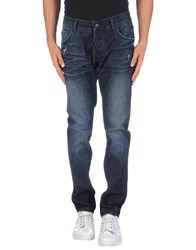 Grey Daniele Alessandrini Denim Denim Trousers Men Blue