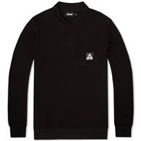 Palace Long Sleeve Backed Pique Shirt Black