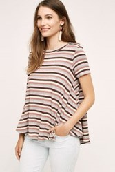 Anthropologie Meri Swing Tee Pink