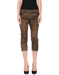 Coast Weber And Ahaus Trousers 3 4 Length Trousers Women Military Green