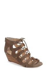 Women's Sole Society 'Freyaa' Wedge Sandal Brindle Suede