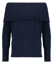 Gestuz Oba Jumper Navy Blazer Dark Blue