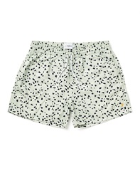 Farah Vintage Swim Shorts In Concrete Print