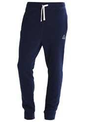 Reebok Tracksuit Bottoms Collegiate Navy Blue