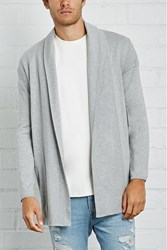 Forever 21 Zipped Open Front Cardigan