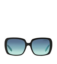 Tiffany And Co. Tiffany Square Oversized Sunglasses Female Black